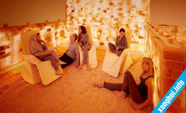 Phòng xông hơi đá muối có tốt cho sức khỏe không?