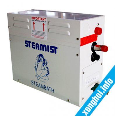 Thông số kỹ thuật máy xông hơi steamist nổi bật nhất -  xông hơi Bilico
