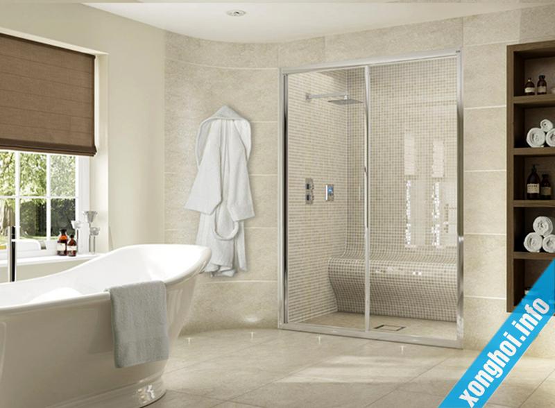 Tiện lợi của máy xông hơi trong phòng tắm