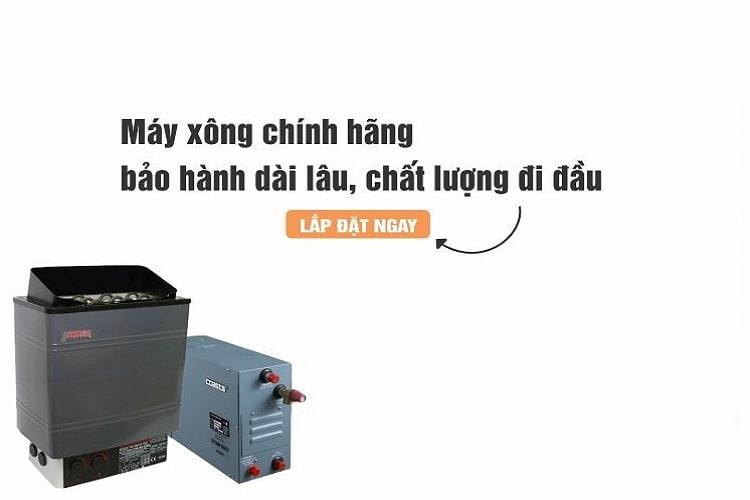 Máy xông hơi chất lượng tại Nghệ An