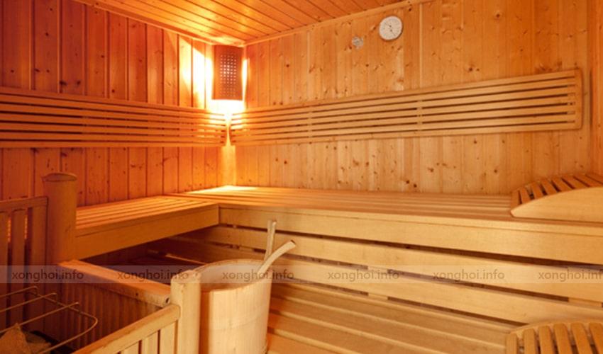 Ứng dụng sản phẩmbộ xô gáo gỗ sauna