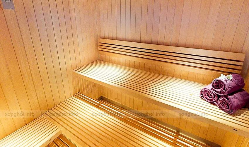 Ứng dụng sản phẩmbộ xô gáo gỗ sauna thực tế
