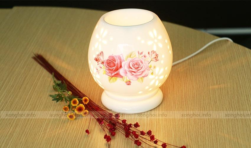 Hình ảnh sản phẩm đèn xông tinh dầu hoàn thiện