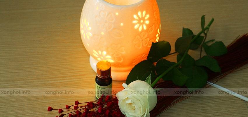 Đặc điểm của đèn xông tinh dầu