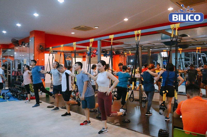 Phòng tập gym Exciter Sports Fitness & Yoga