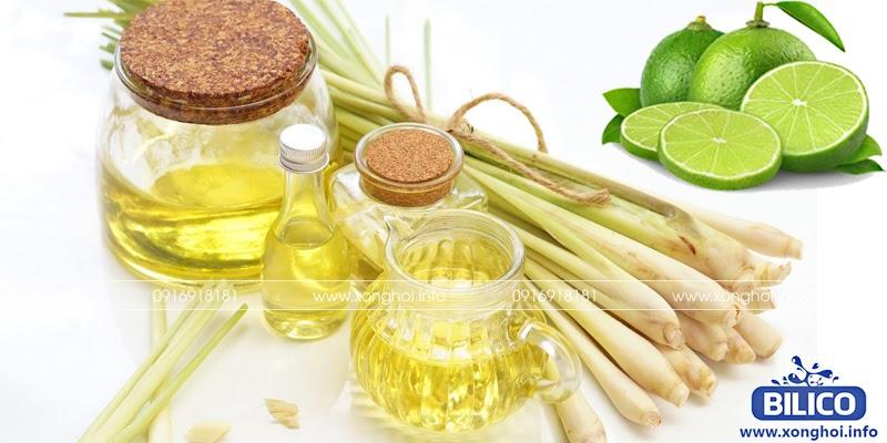 Tinh dầu chanh sả dùng xông hơi