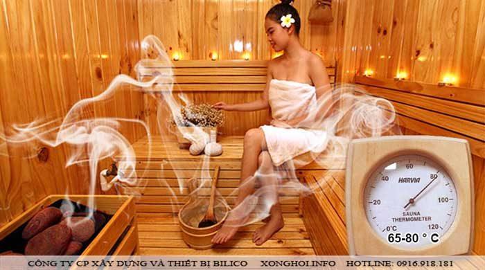 Địa chỉ cung cấp thiết bị xông hơi khô ở Hà Nội uy tín, chất lượng - xông hơi Bilico